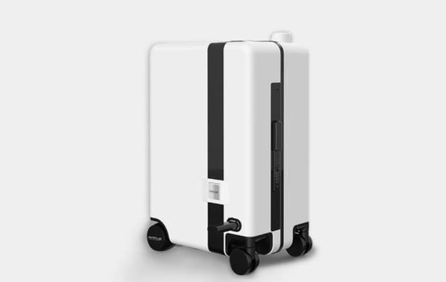 能跟你走还能让你骑着走那种行李箱你见过吗?