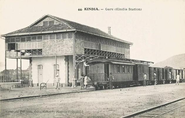 · 1905 年的金迪亚