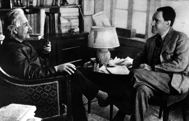 利奥波德·英费尔德和爱因斯坦