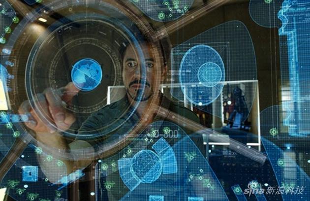 虽然不能像钢铁侠一样隔空操作,但是桌面触控已经能实现了