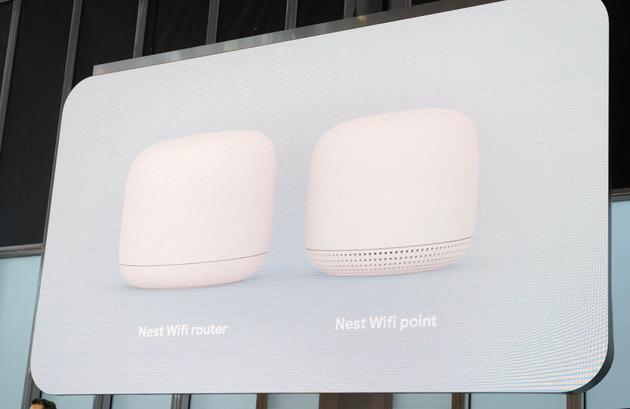 Nest Wifi和信号扩展器