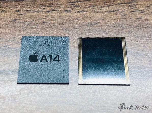 苹果A14芯片组件曝光 或为今年4月生产