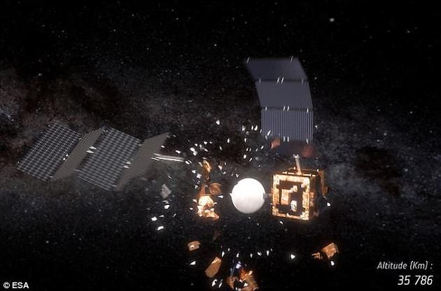 卫星在太空中发生碰撞的事件只发生过四次。然而,专业人士表示,这样的事故在未来将变得越来越频繁。