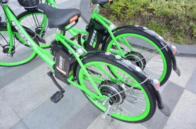消失在街头的享骑电单车 来源:享骑出行