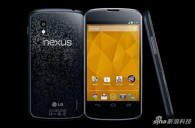 Nexus 4的设计感很强