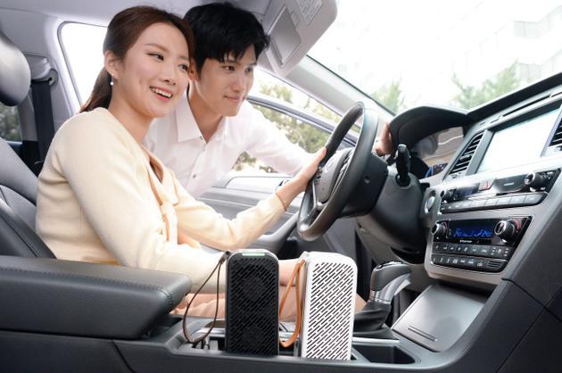 LG发布首款车载空气净化器:重量仅约530克 续航8小时