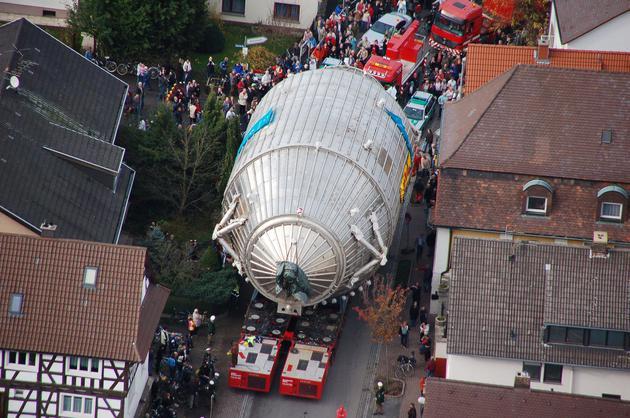 2006年,卡特琳实验的主光谱仪被运送到德国卡尔斯鲁厄研究中心