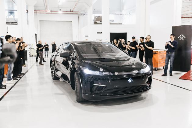法拉第未来FF 91首辆预产车下线