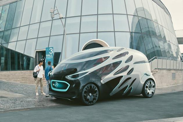奔驰Vision Urbanetic无人驾驶概念车