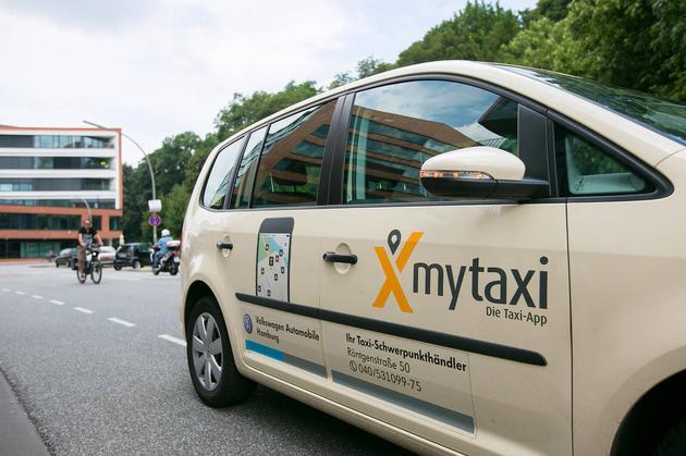 戴姆勒推出的Mytaxi服务