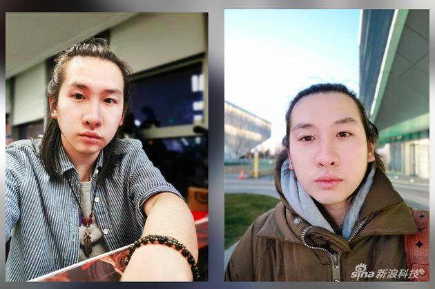 两组样张拍摄挨次为前后脚 时间是北京时间晚五点半前后 室外天色其实已经很黑了