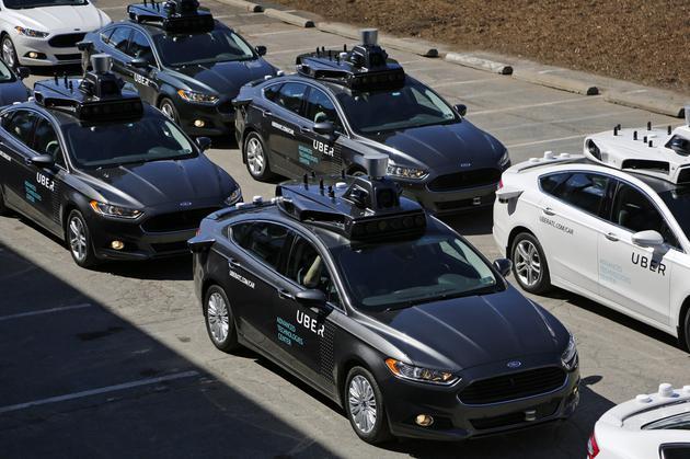 Uber無人駕駛部門獲軟銀和豐田投資:金額達10億美元