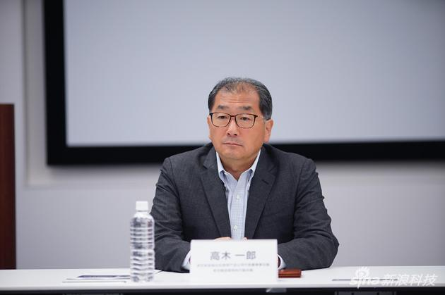 索尼集团高级执行副总裁高木一郎