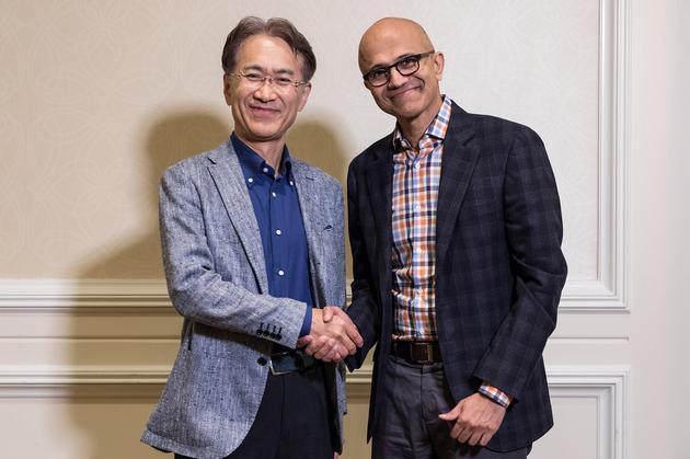 微软和索尼将就云游戏业务展开合作