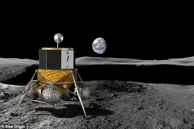 蓝色起源公司将是美国宇航局正在筹备的月球探索计划的合作公司之一,此次合作的一共有11家商业公司。