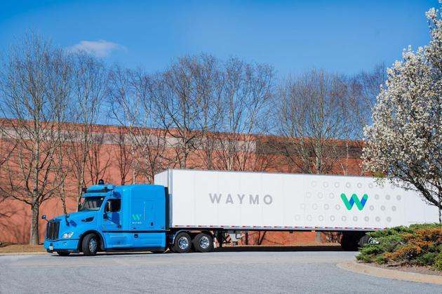 Waymo将在美国道路测试自动驾驶卡车