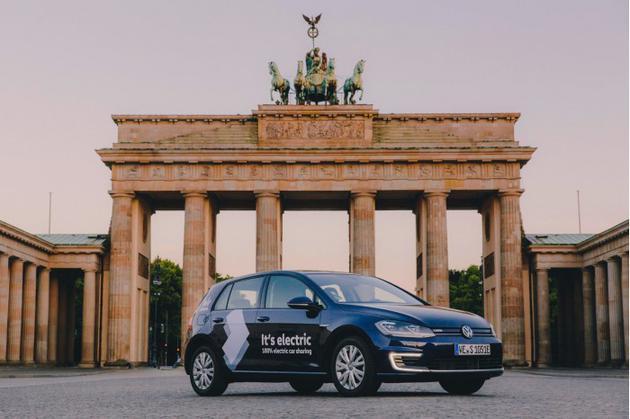 大众入局共享汽车 率先推出1500辆e-Golf紧凑型掀背车