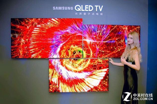 QLED电视展现犹如水晶般通透的色彩
