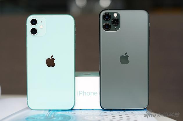 对比Pro系列,iPhone 11显得更年轻