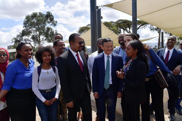 馬云投資1億美元培養非洲企業家