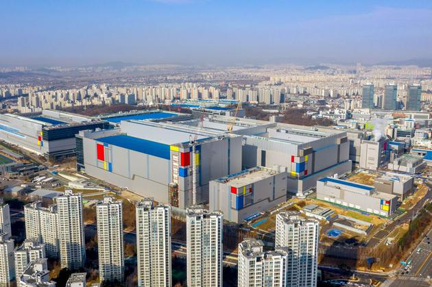 图1:三星电子华城半导体综合工厂