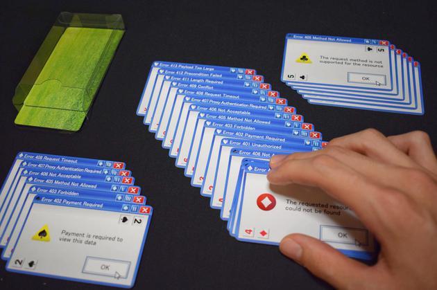 """爷青回!日本游戏开发商推出""""微软错误弹窗""""扑克 推荐 第3张"""