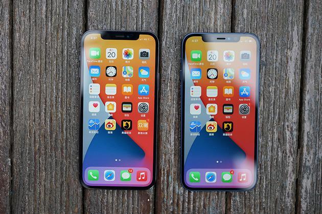 iPhone 12和iPhone 12 Pro