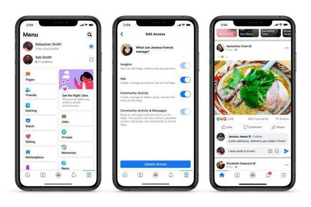 Facebook宣布重新设计品牌专页:简化布局,取消点赞