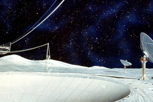 自上世纪六十年代以来,天文学家就梦想着在月球背面建造射电望远镜,这样可以避免地球的干扰。