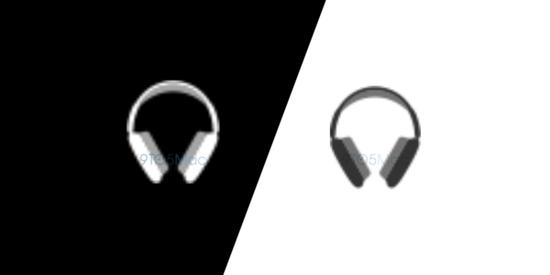 iOS 14系统中出现的头戴式耳机logo