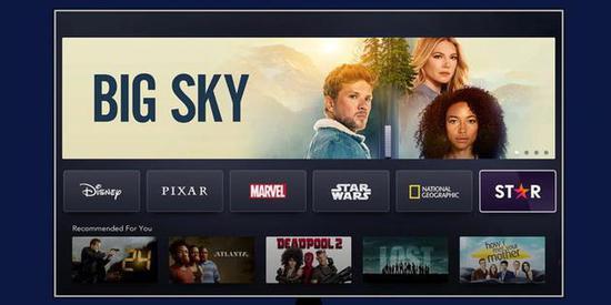 Disney+在美国境外推出Star频道:专供成年订户观看