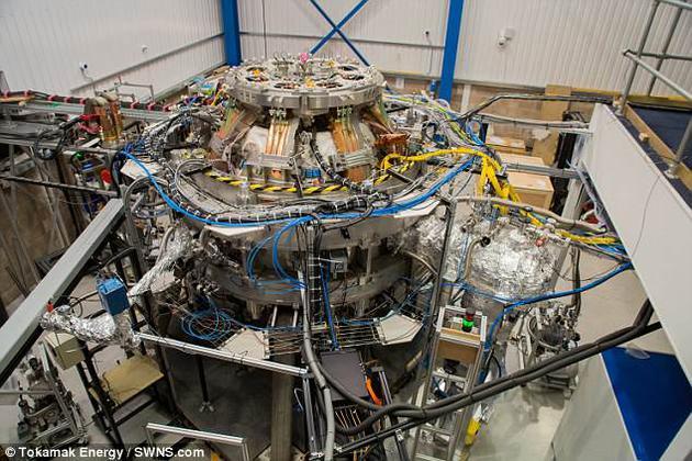 达到1亿摄氏度后,反应堆便可激发核聚变,通过原子核的融合释放大量能量。