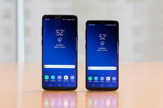 三星Galaxy S9+和S9