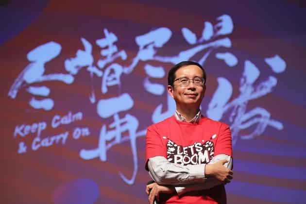 """图/天猫是张勇首次创业的成果,""""双11""""是他的创造。"""
