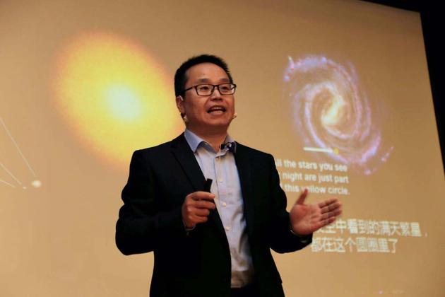 ▲中国科学院国家天文台研究员郑永春