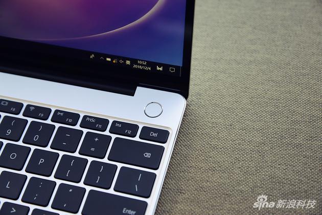 华为MateBook 13评测:硬件大升级 价格决定成败的照片 - 7