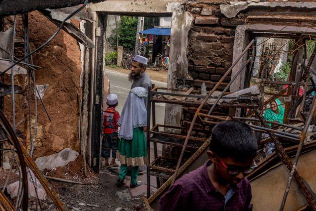 斯里兰卡今年3月的骚乱现场。Facebook被控告添剧当地的主要现象。