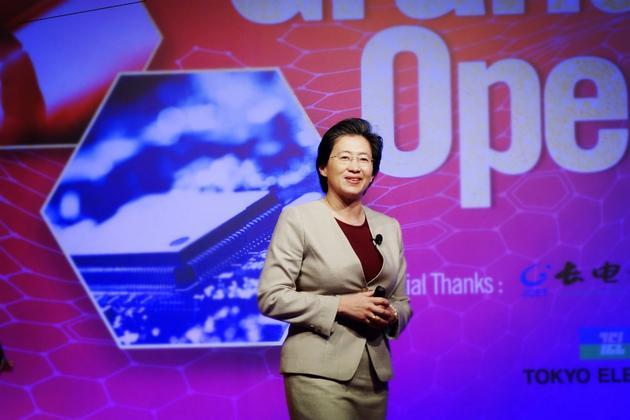 AMD总裁兼首席执行官苏姿丰