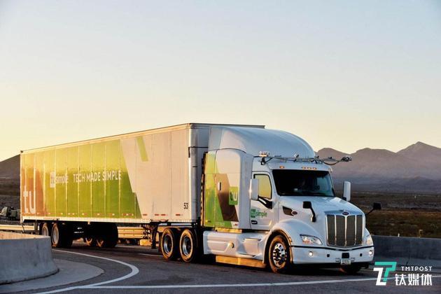 2019年,图森未来在美无人驾驶卡车规模将扩充至40台