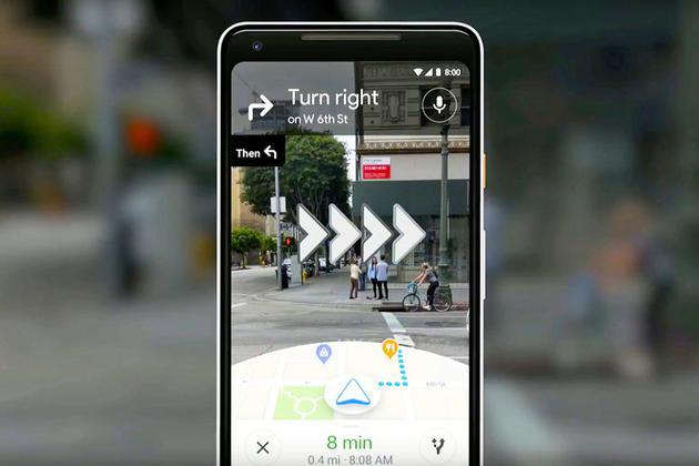 谷歌地图小范围推AR实景导航:广泛推出仍需时间