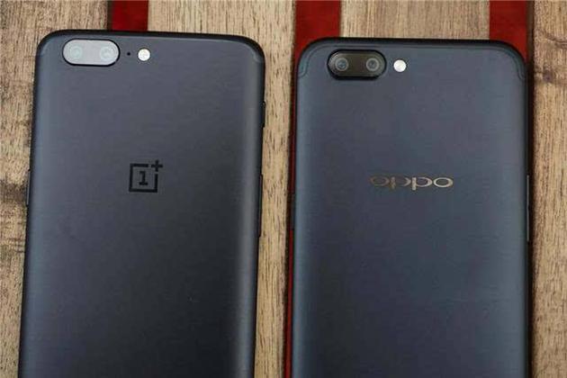 一加手机和OPPO手机