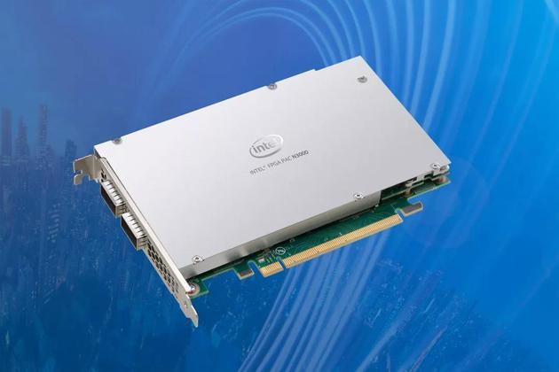 英特尔FPGA PAC N3000可加速多种虚拟化工作负载,包括5G无线接入网络和5G核心网络应用