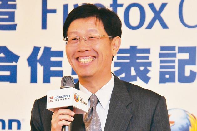 鸿海S次集团总经理刘扬伟