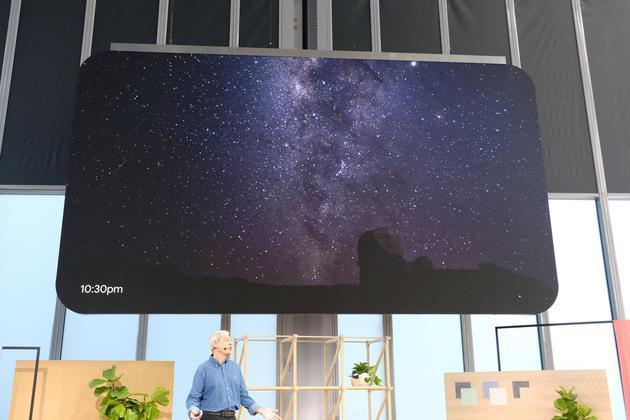 能拍银河了(图片来自theverge)