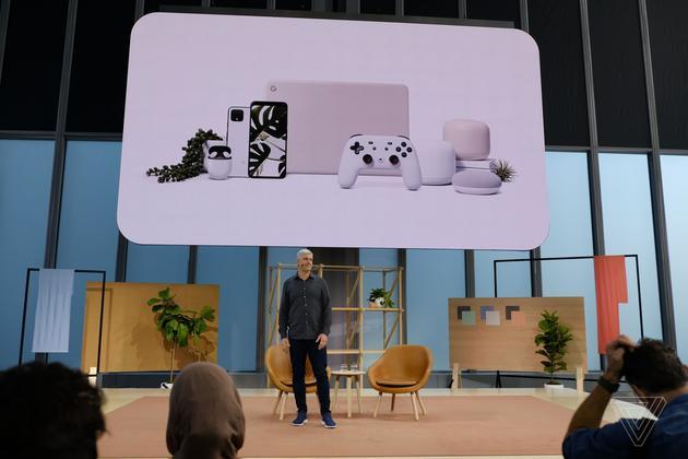 手机,耳机,笔记本,智能音箱,游戏机组成谷歌全家桶