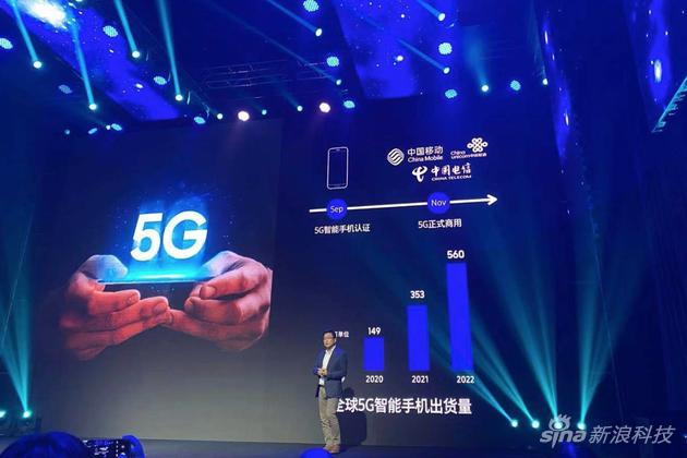 5G手机出货量猛增