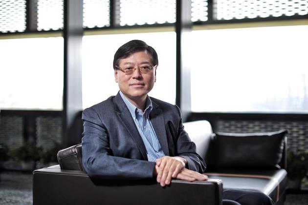 联想集团董事长兼首席实行官杨元庆。