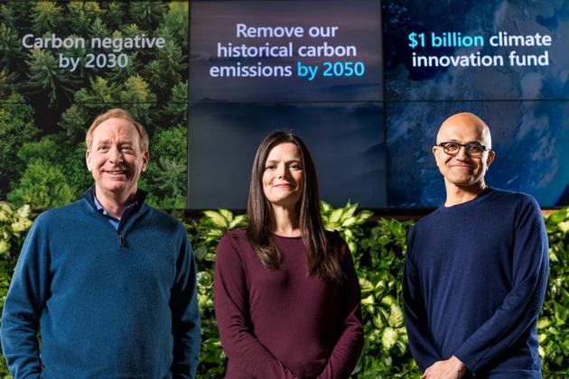 """環保擔當!微軟將投資10億美元創立""""氣候創新基金"""""""