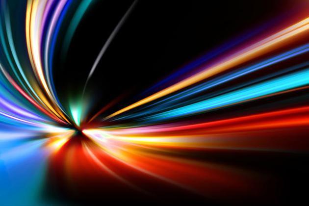 爱因斯坦的狭义相对论指出,光速约为每秒3亿米。