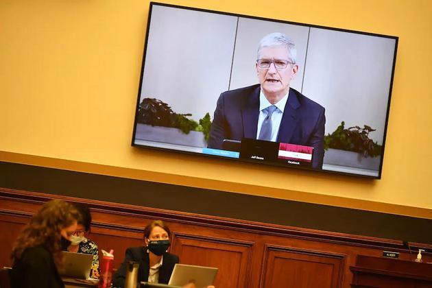 库克向美国国会作证:苹果公司不是个垄断企业